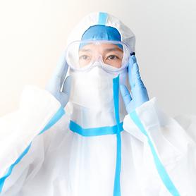 抗菌・消毒作業